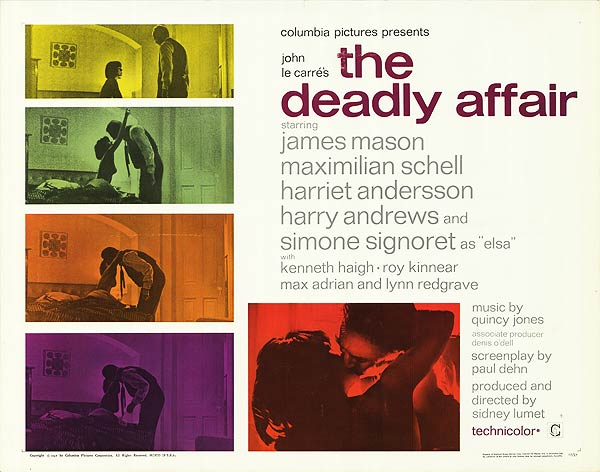 'The banal staging of the Cold War conflict in The Deadly Affair (1966)'